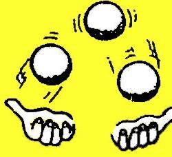 jongler-jaune